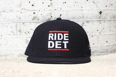 RIDE DET - Flat Bill Snap Back Hat