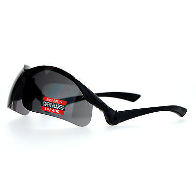 SA106 Mens Flip Up ANSI Z87.1+ Protection Half Rim Shatterproof Safety Glasses