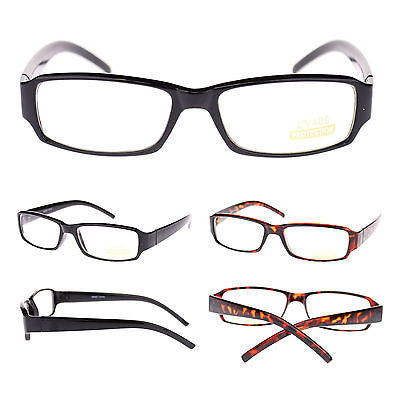 Unisex Small Face Classic Retro Narrow Rectangular Clear Lens School Eye Glasses