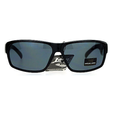 Locs Tattoo Logo Hardcore Ganster Rectangular Cholo Plastic Sunglasses