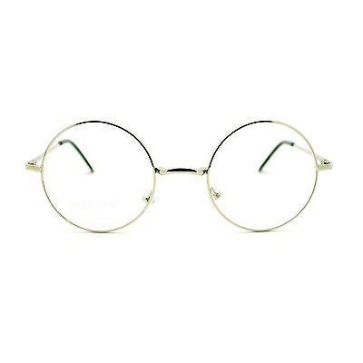 Iconic Hippie Musician Celebrity Perfect Circle Lens Eye Glasses