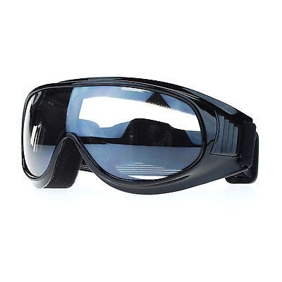 New Retro Cafe Racer Style Narrow Shatter Proof Anti Fog Lens Motorcycle Goggle