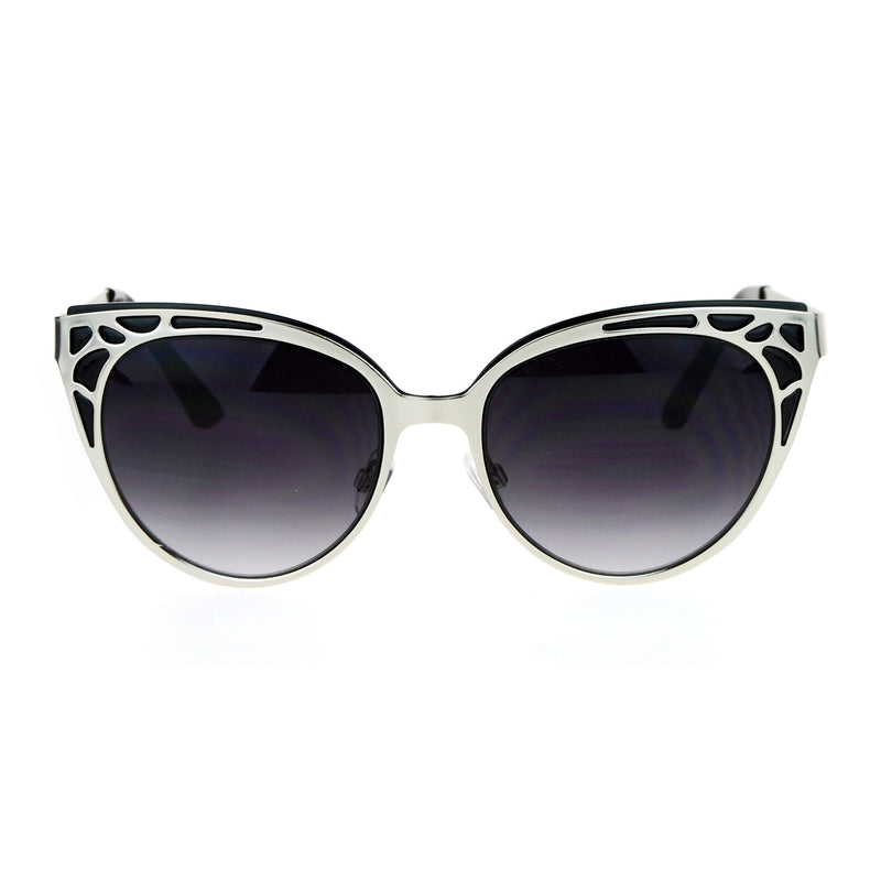 SA106 Art Nouveau Deco Horn Rim Cat Eye Womens Sunglasses
