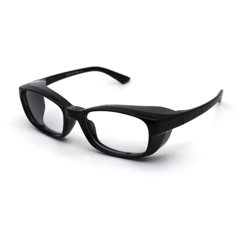 Fit Over Eyeglasses Safety UV Blue Light Eye Protection Computer Glasses