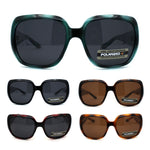 Polarized Womens Classic 90s Rectangular Butterfly Fashion Sunglasses