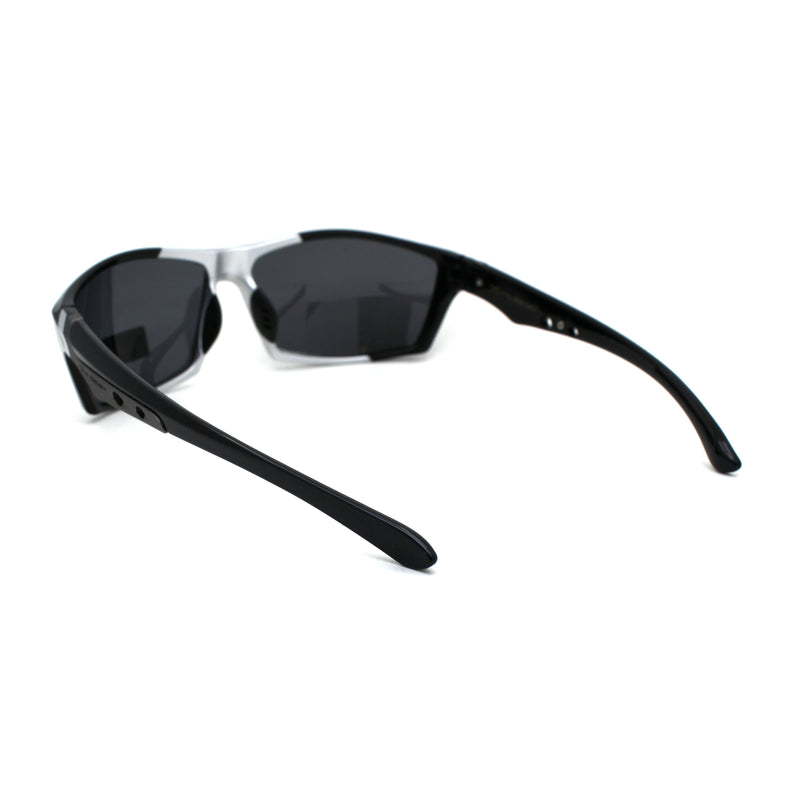 Xloop Polarized Mens Aerodynamic Warp Around Sport Sunglasses