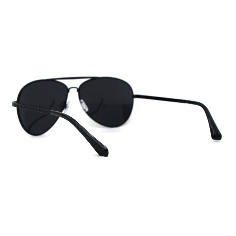 Mens Classic Officer Cop Metal Rim Fashion Sunglasses