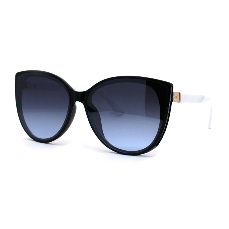 Womens Chic Designer Butterfly Cat Eye Sunglasses