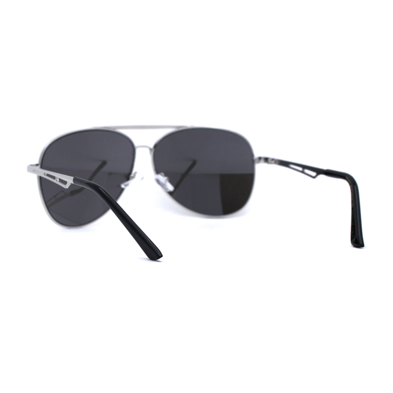 Mens Tear Drop Shape Air Force Officer Style Pilots Sunglasses