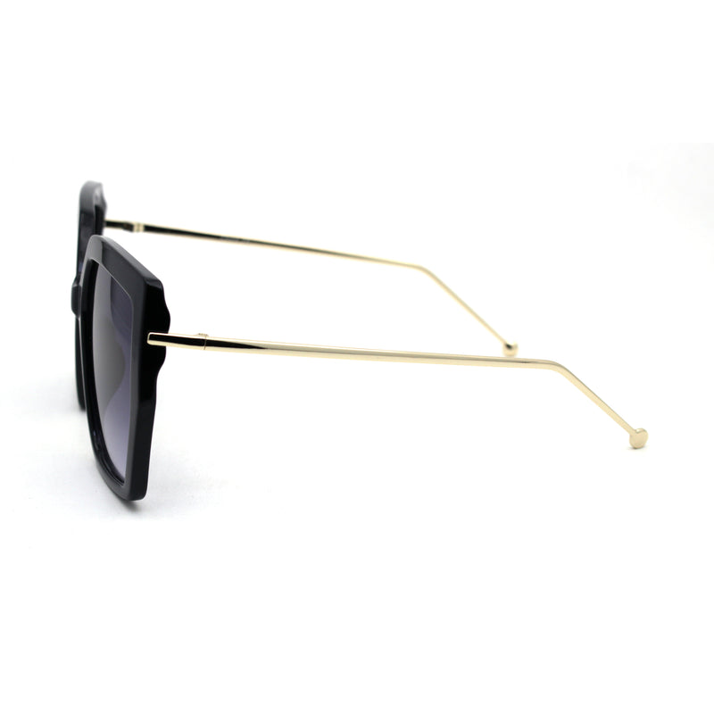 Womens Oversize Squared Butterfly Chic Fashion Sunglasses