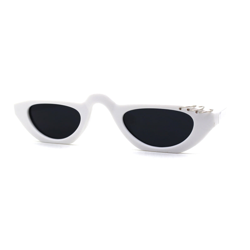 Brow Piercing Ring Loop Punk Raised Bridge Cat Eye Sunglasses
