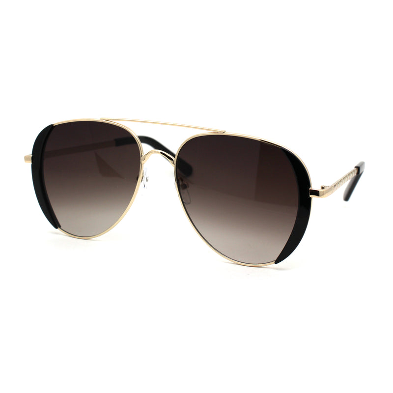 Womens Luxury Officer Cop Tear Drop Style Fashion Sunglasses