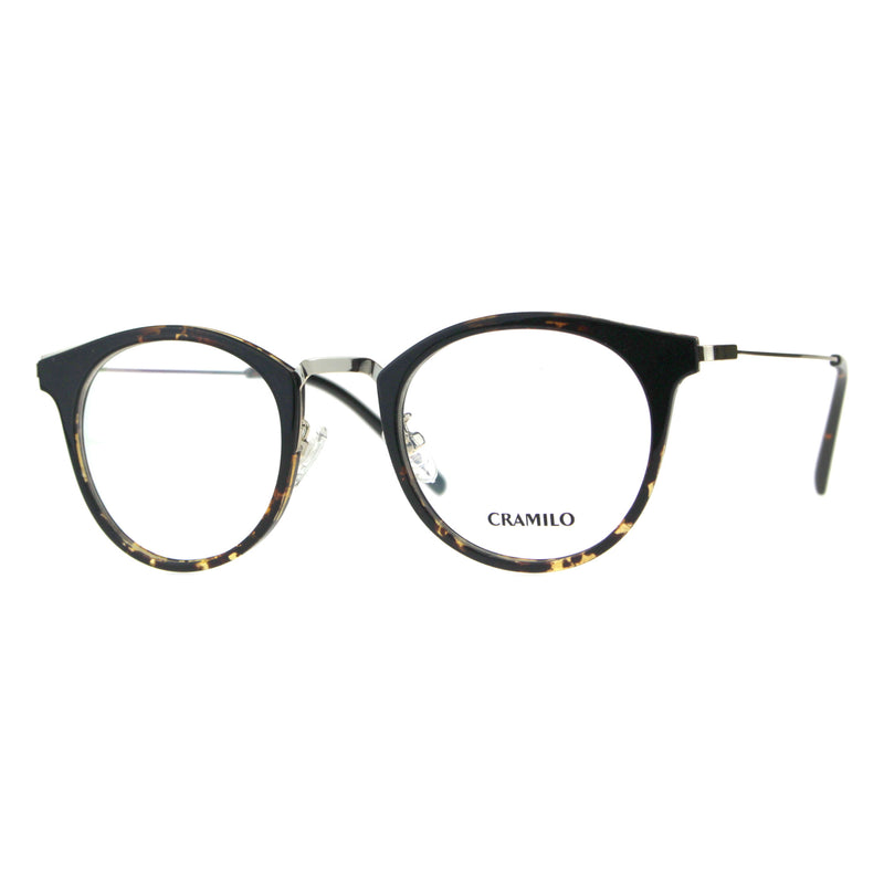 Premium Optical Quality Round Horned Rim Fashion Eyeglasses Frame