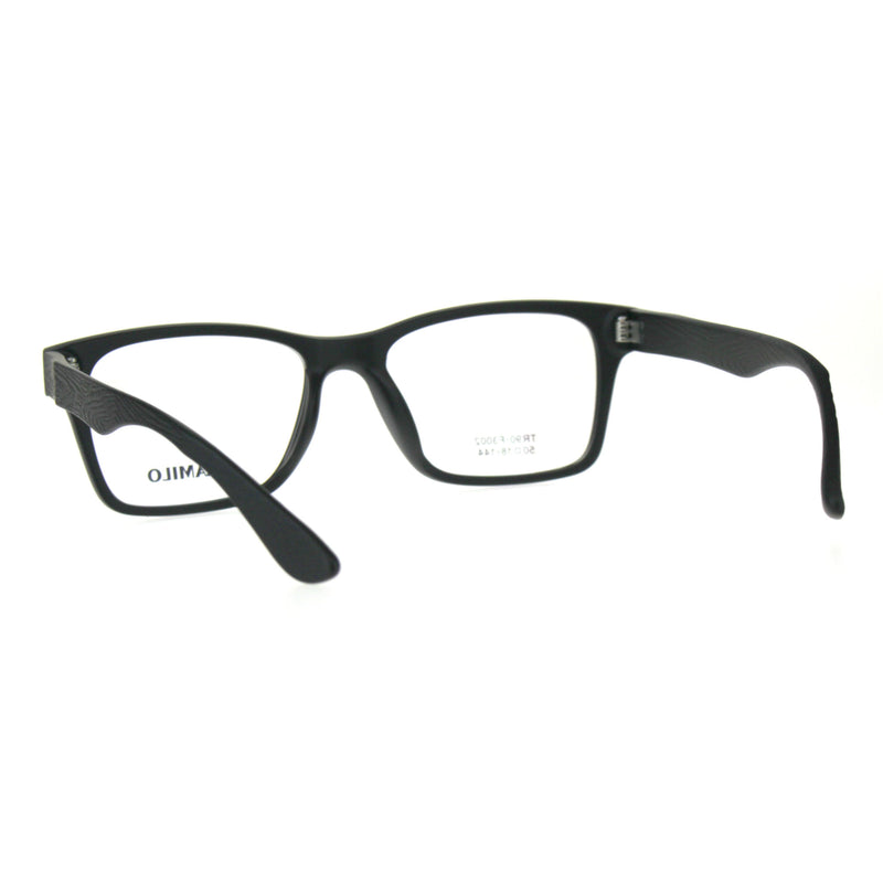 Premium Optical Quality TR90 Plastic Rectangular Horn Rim Eyeglasses Frame