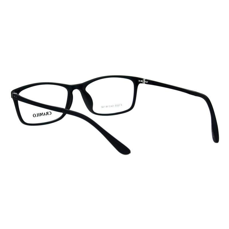 Narrow Rectangular Thin Plastic Optical Quality Eye Glasses Frame