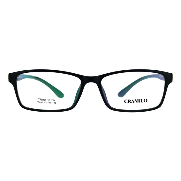 Classic 54mm Narrow Rectangular TR90 Plastic Optical Eyeglasses Frame