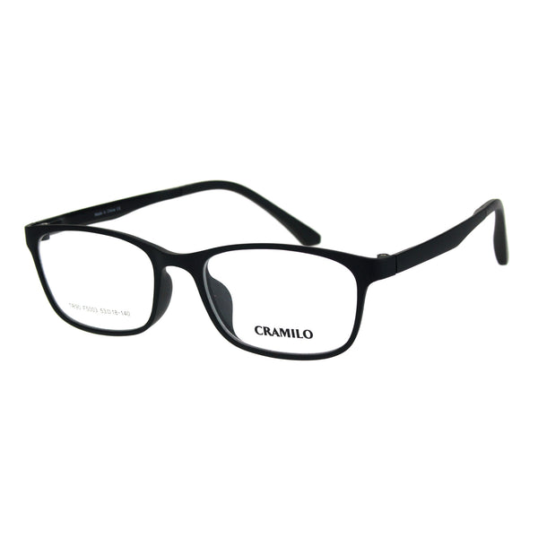 Mens Narrow Light Weight Indestructible TR90 Plastic Optical Eyeglasses Frame