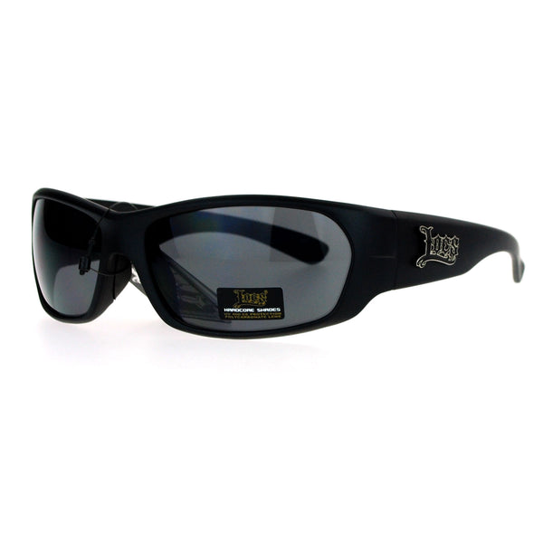 Locs All Black Classic Cholo Gangster Warp Biker Sunglasses