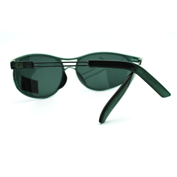 Indestructible TR90 Frame Polarized Lens Sporty Aviator Style Sunglasses (More Colors)