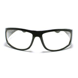 Clear Lens Wind Breaker Mens Motorcycle Riding Warp Biker Glasses