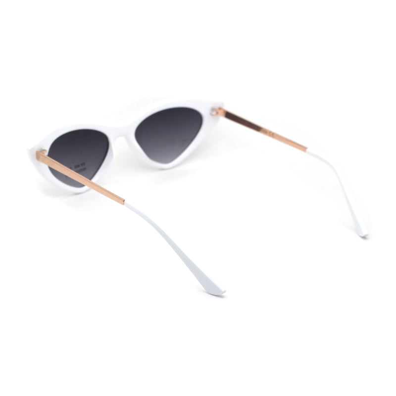 Womens Chic Classic 20s Mod Cat Eye Sunglasses