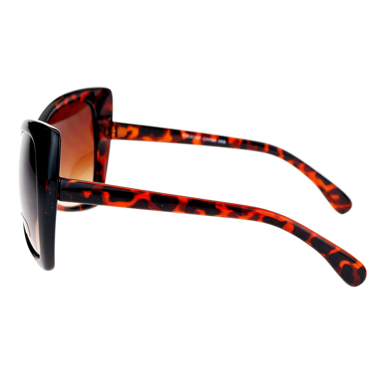 SA106 Cat Women Butterfly Oversize Fashion Plastic Sunglasses