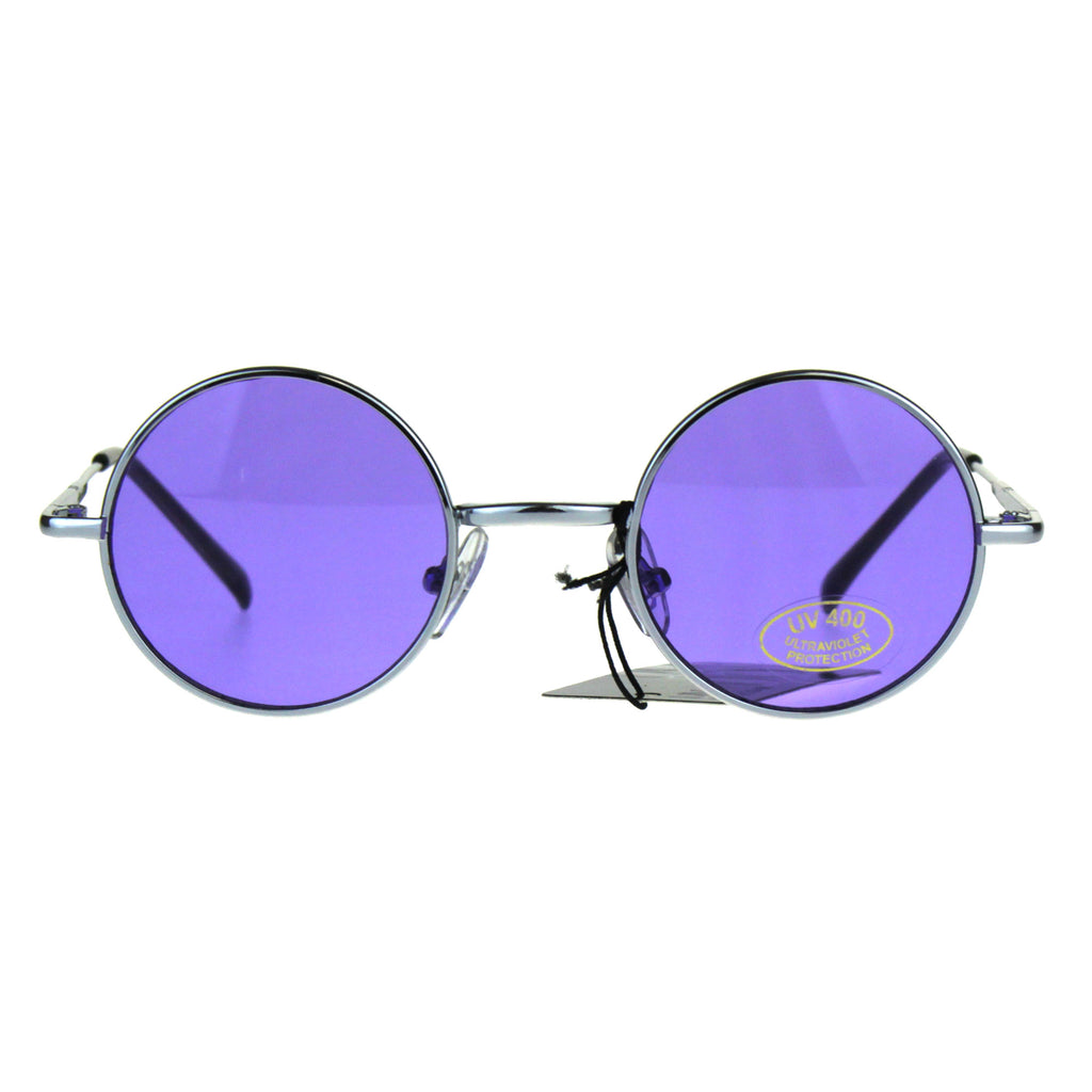 Children Size Hippie Groove Pimp Daddy Round Circle Lens Sunglasses