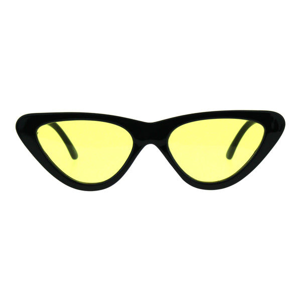 Pop Color Retro Vintage Style Cat Eye Womens Plastic Sunglasses
