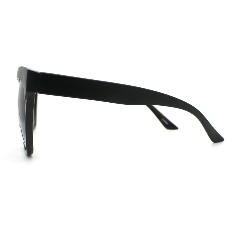 SA106® Womens Thick Plastic Oversized Cat Eye Sunglasses