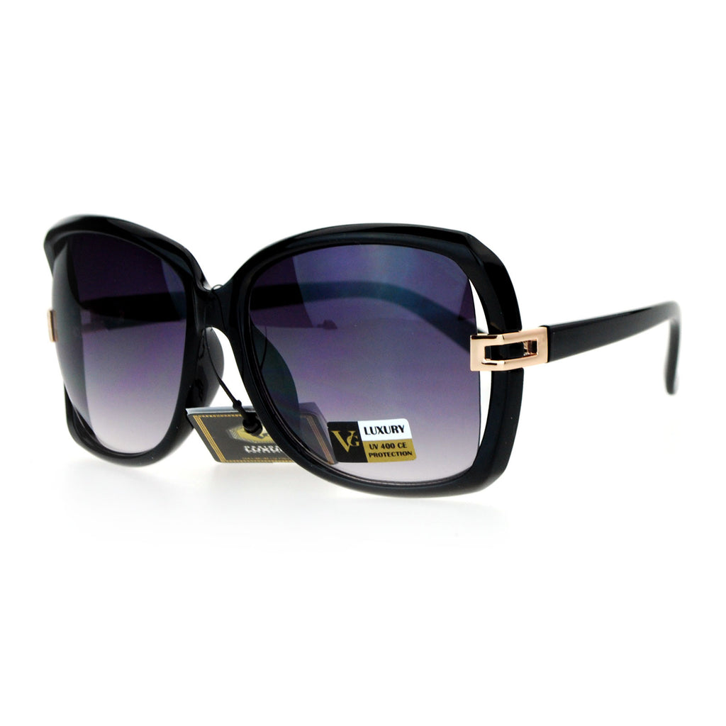 VG Eyewear Womens Exposed Side Butterfly Designer Fashion Sunglasses