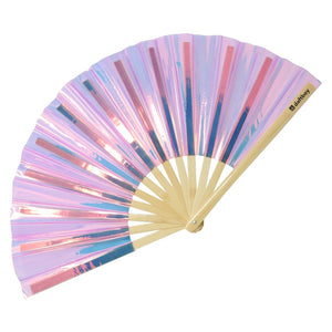 Fluid Pink Champagne Fantasy Fan