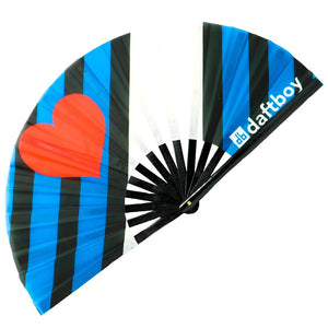 Leather Flag Fan