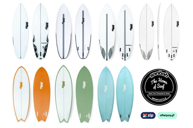 HUGE new range of DHD Surfboards have landed!