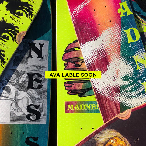 INTRODUCING: MADNESS SKATEBOARDS