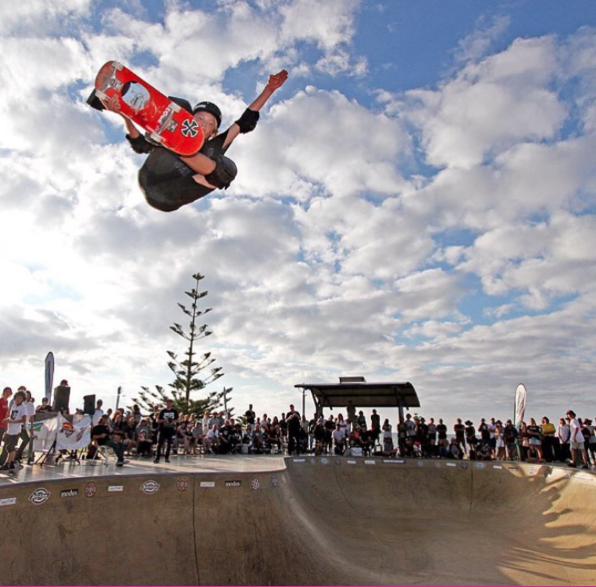 Jedd McKenzie takes KING OF CONCRETE WA Championships of Bowl Skateboarding - Busselton