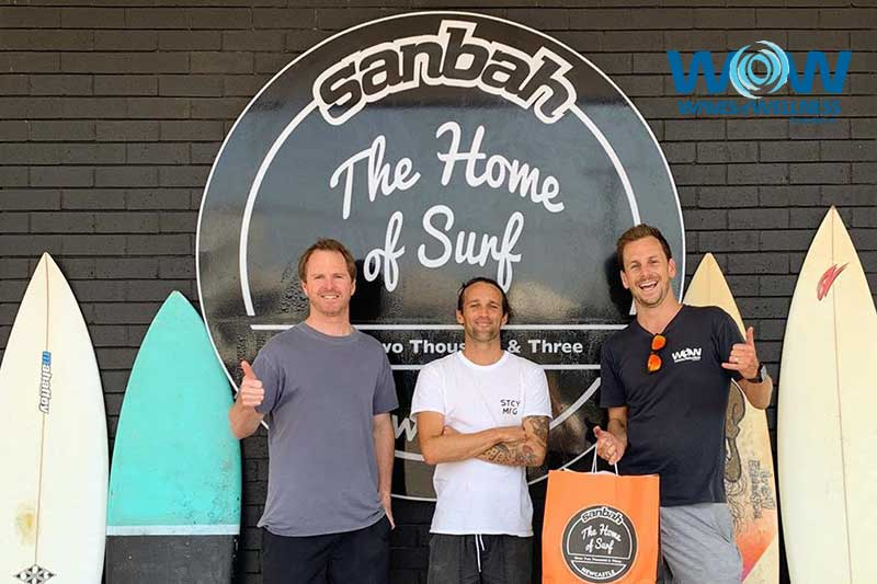 Sanbah Surf Supporting Waves of Wellness (WOW Foundation)