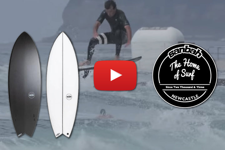 JS Industries Black Baron Twin Fin Board Review by Sanbah.com