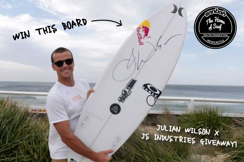 Demo Day Wrap up & Win a signed Julian Wilson surfboard!! Find out how..
