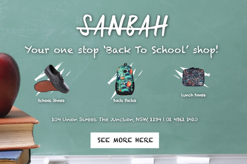 WE ARE YOUR ONE STOP 'BACK TO SCHOOL' SHOP!