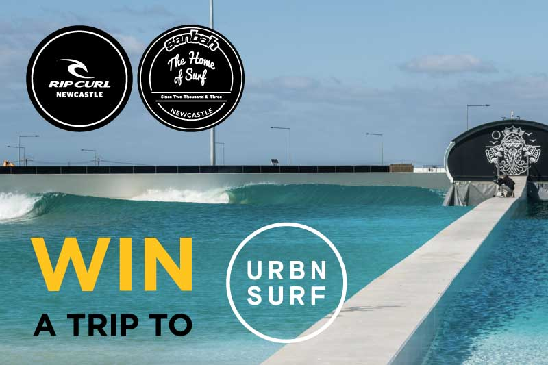Win a trip to UBRNSURF Wavepool in Melbourne!