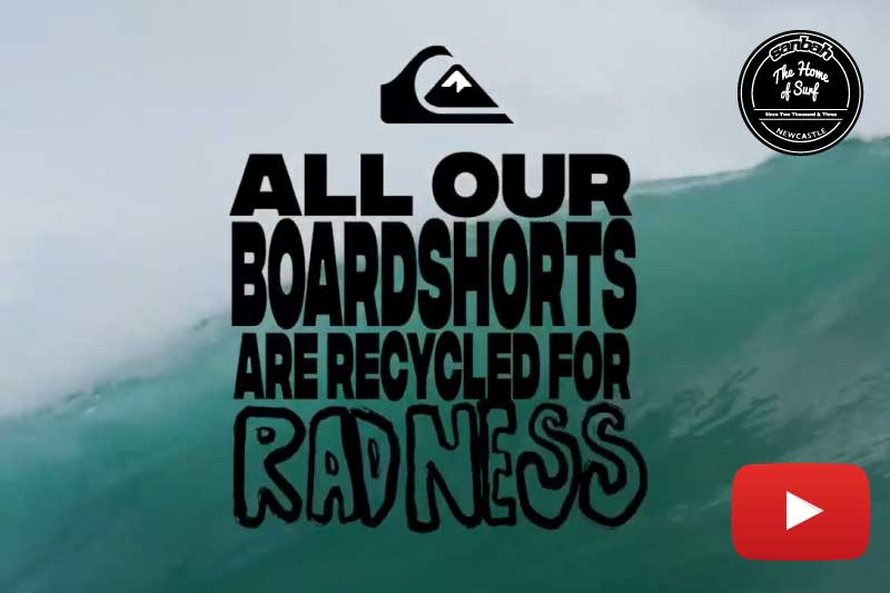 Boardshorts from Plastic Bottles - Recycled for Radness - Instore now!
