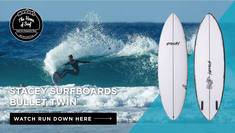 Stacey Surfboards Bullet Twin Board Review