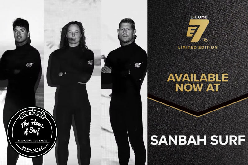 Rip Curl E7 E-Bomb Mens & Women's Steamer Wetsuit is now here! Shop online or in-store from Sanbah!