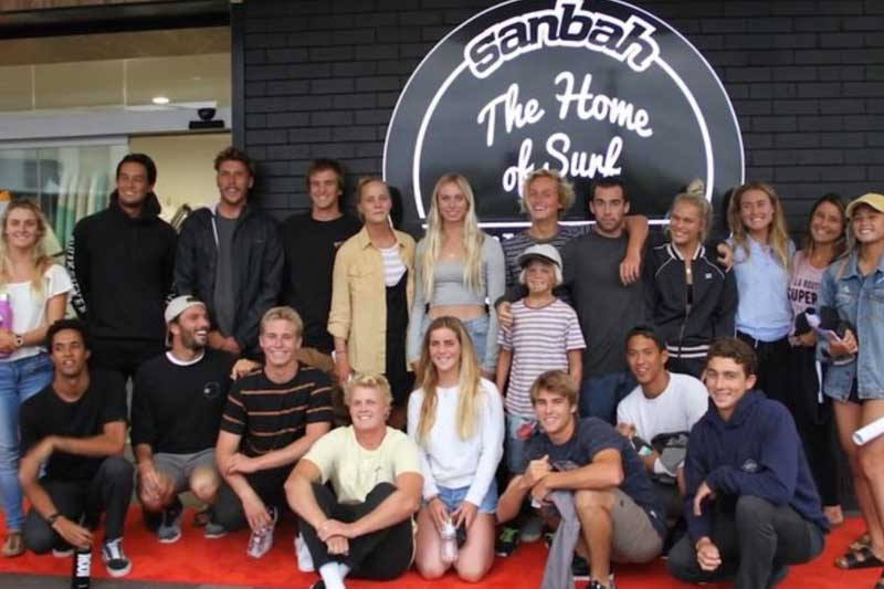 Want to meet your favourite pro surfers? Sanbah Pro Signings coming up!
