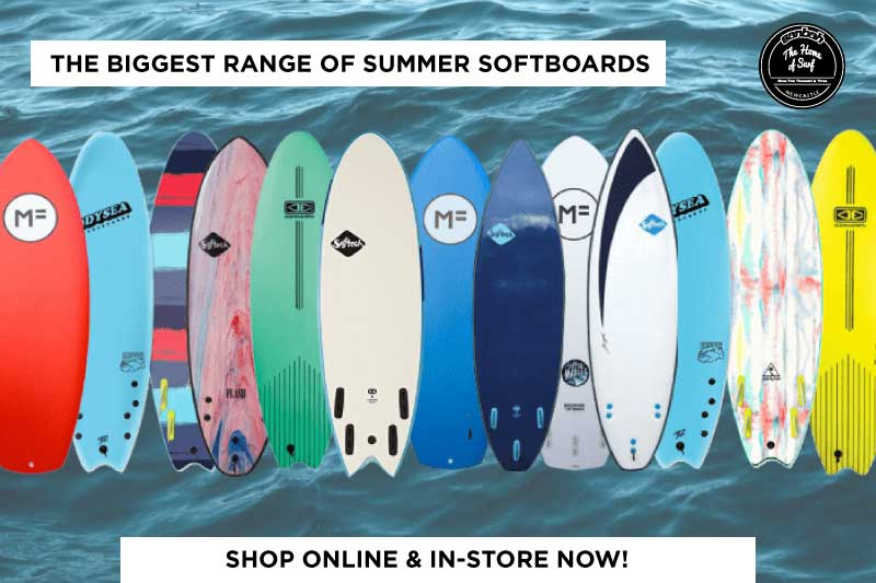 The Best summer softboards are here! Shop online or in-store now.