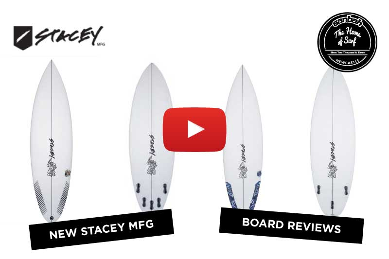 New Stacey Surfboards Board Reviews! Yeti Wolf & Lab Rat! In-store now!