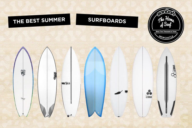 Need a new summer surfboard? Sanbah Surf has you covered! View Online!