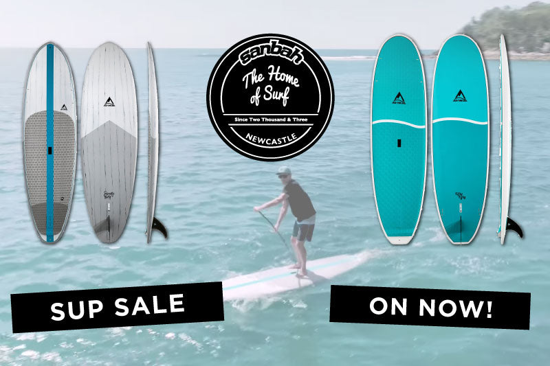 Sanbah Stand Up Paddle Board sale on now! Save hundreds!
