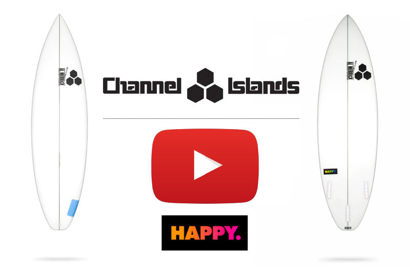 Channel Islands Happy board review by Sanbah.com