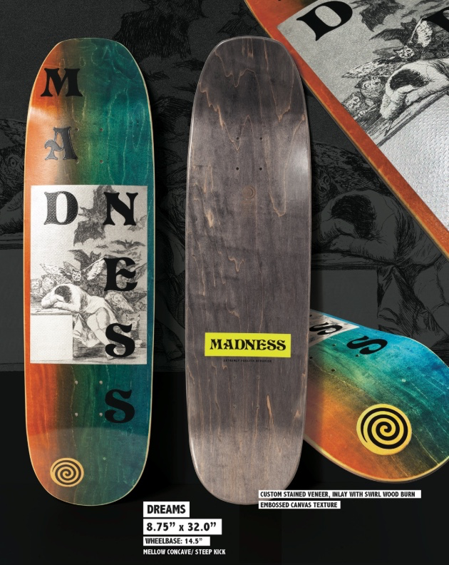 MADNESS is a new Skateboard Co. focused on transition with team riders Jack  Fardell d62b55ed064
